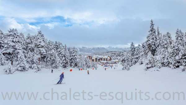 La station de ski de Font Romeu Pyrénées 2000