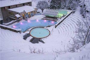 Bains d'eaux chaudes de Saint Thomas à Fontpédrouse