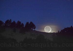 Lune Font Romeu la Calme
