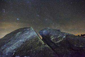 étoiles et rocher Font Romeu