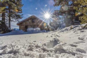 chalet Nest neige et soleil